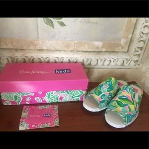 52e051bf65e867 Lilly Pulitzer Shoes - 🧜 ♀ NWT Lilly Pulitzer MULES KEDS Sneakers Shoes